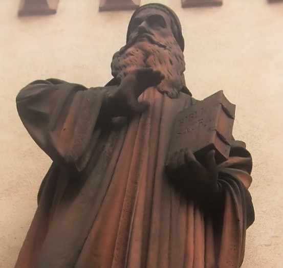 Johann Oecolampadius - Statue located in Basel, Switzerland